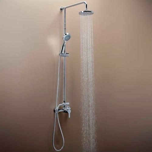 grifería fv puelo monocomando ducha externa 0312/b5 columna