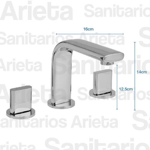 griferia hydros icon lavatorio ducha bidet + 4007 cs0714