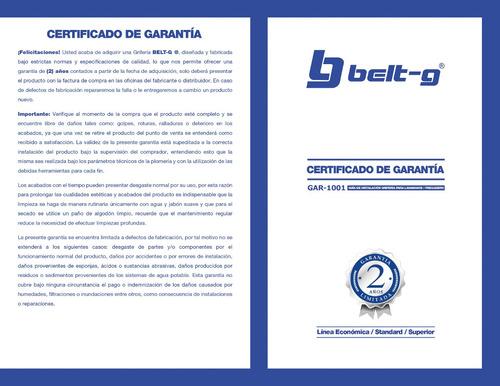 griferia lavamano pico cisne oval set cromo belt-g gri-0755