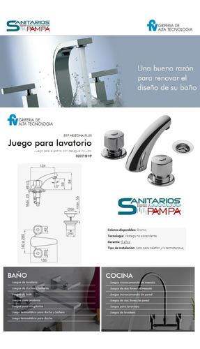 griferia lavatorio fv arizona baño 0207/b1p-cr
