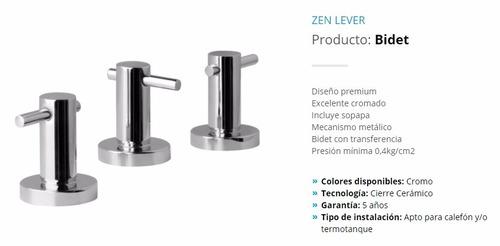 grifería lavatorio hydros modelo zen lever- lomas zamora