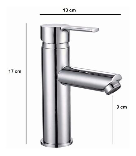 grifería lavatorio monocomando hydros calyx bajo 30911