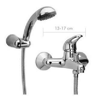 griferia link portobelo ducha con transfer duchador piazza