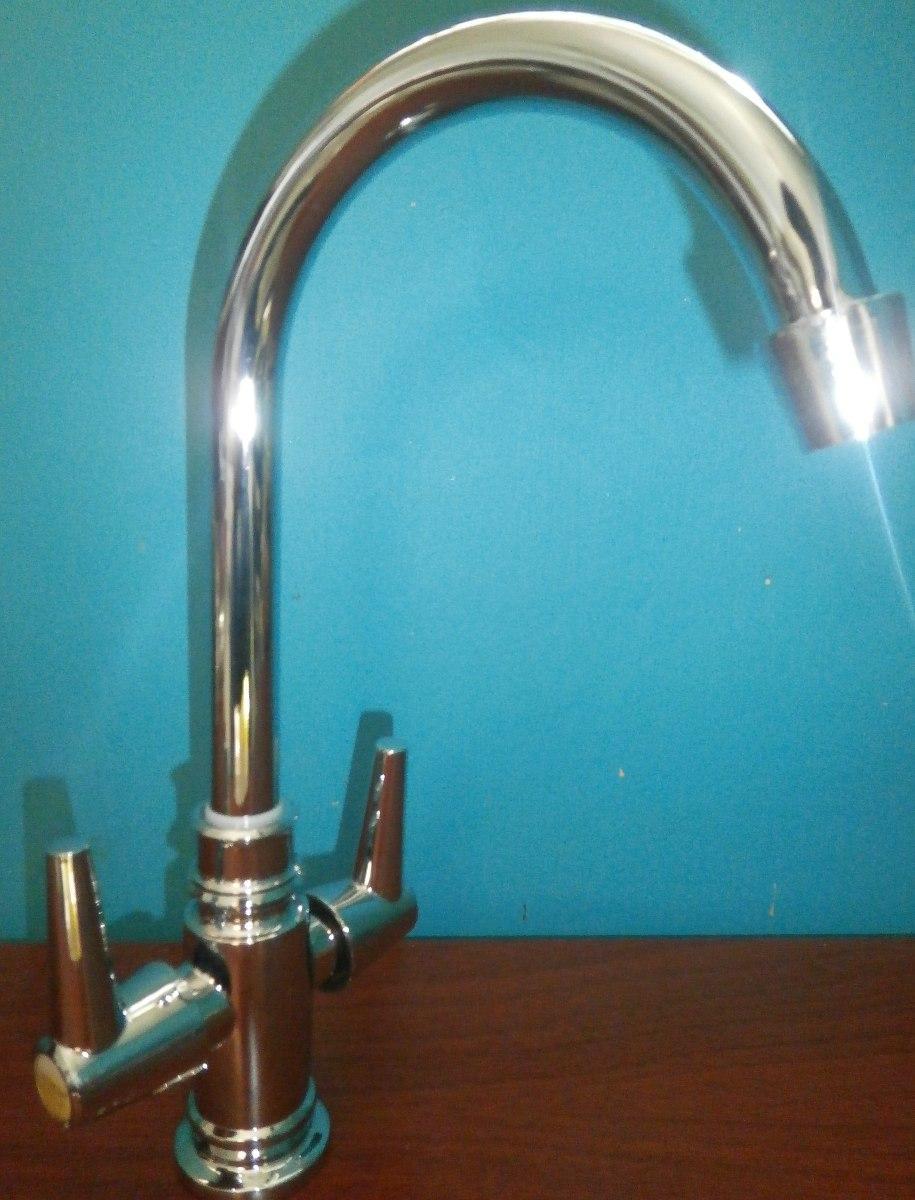 Griferia llave de lujo para fregadero lavaplatos nuevas for Llaves para fregadero helvex