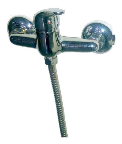griferia monocomando ducha sin transferencia todo metalica el comando. naffull