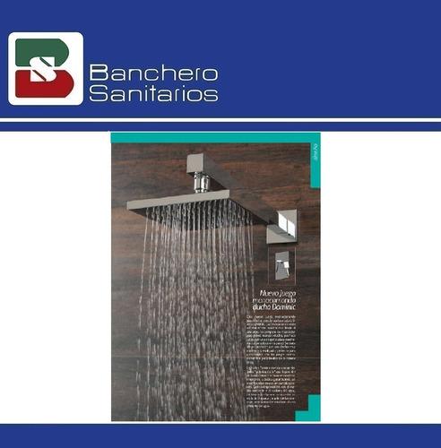 grifería monocomando fv dominic new bañera y ducha de embuti
