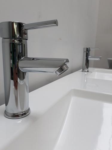griferia monocomando lavatorio cierre ceramico blade baja