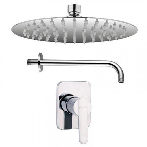grifería para baño  monocontrol ducha carmina slim e.a