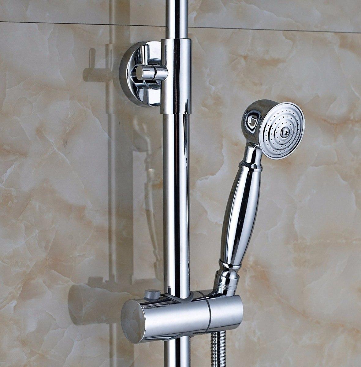 Grifería Para Ducha - Exterior De Diseño - Retro Cromada -   12.500 ... cf864af5e9e9