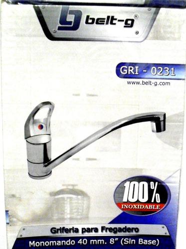 griferia para fregadero belt-g gri-0231