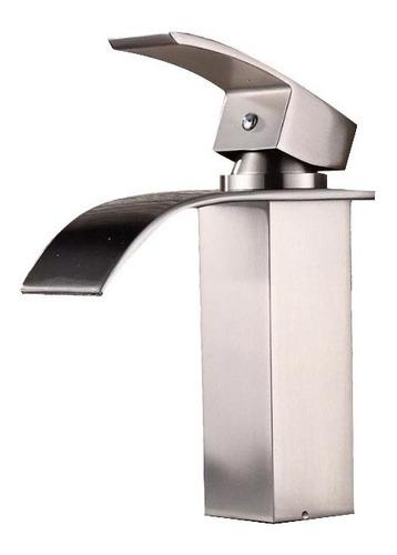 grifería para lavamanos yodel brush nikel baños