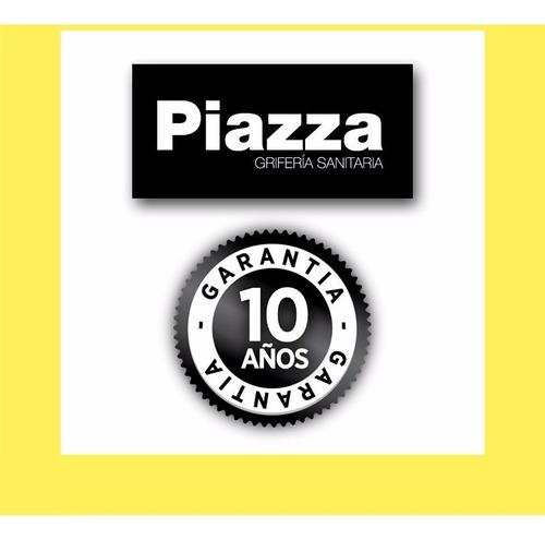 grifería piazza unique lever ducha baño cierre cerámico