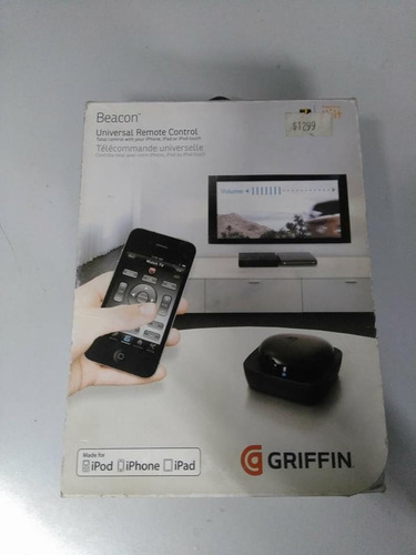 griffin beacon control remoto universal-ipod, iphone, ipad