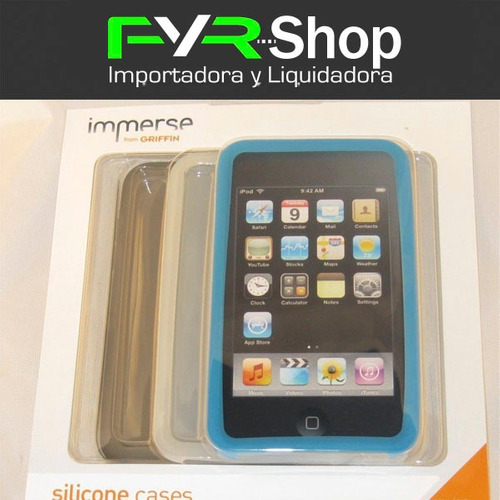 griffin silicon case inmerse ipod touch 2g 3g 4g