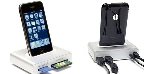 griffin simplifi cuna o dock para iphone 3, 4 4s o ipod
