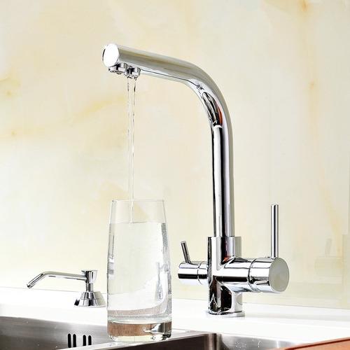 grifo 3 vías forum para purificador de agua