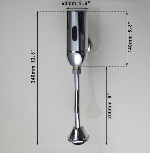 grifo automatico sensor urinario tipo botella valvula ysg620