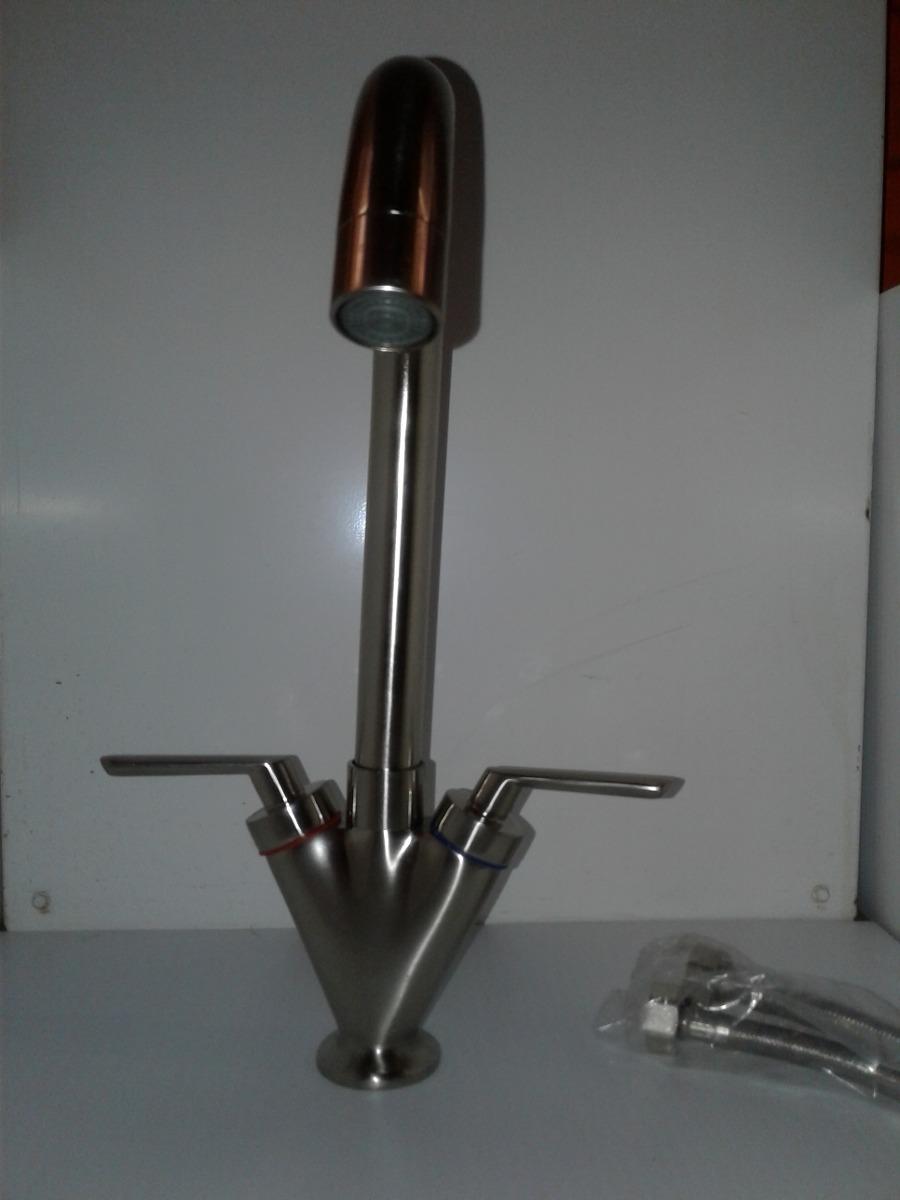 Grifo Con Diseño Moderno Niquelado Para Cocina O Baño - $ 185.000 en ...
