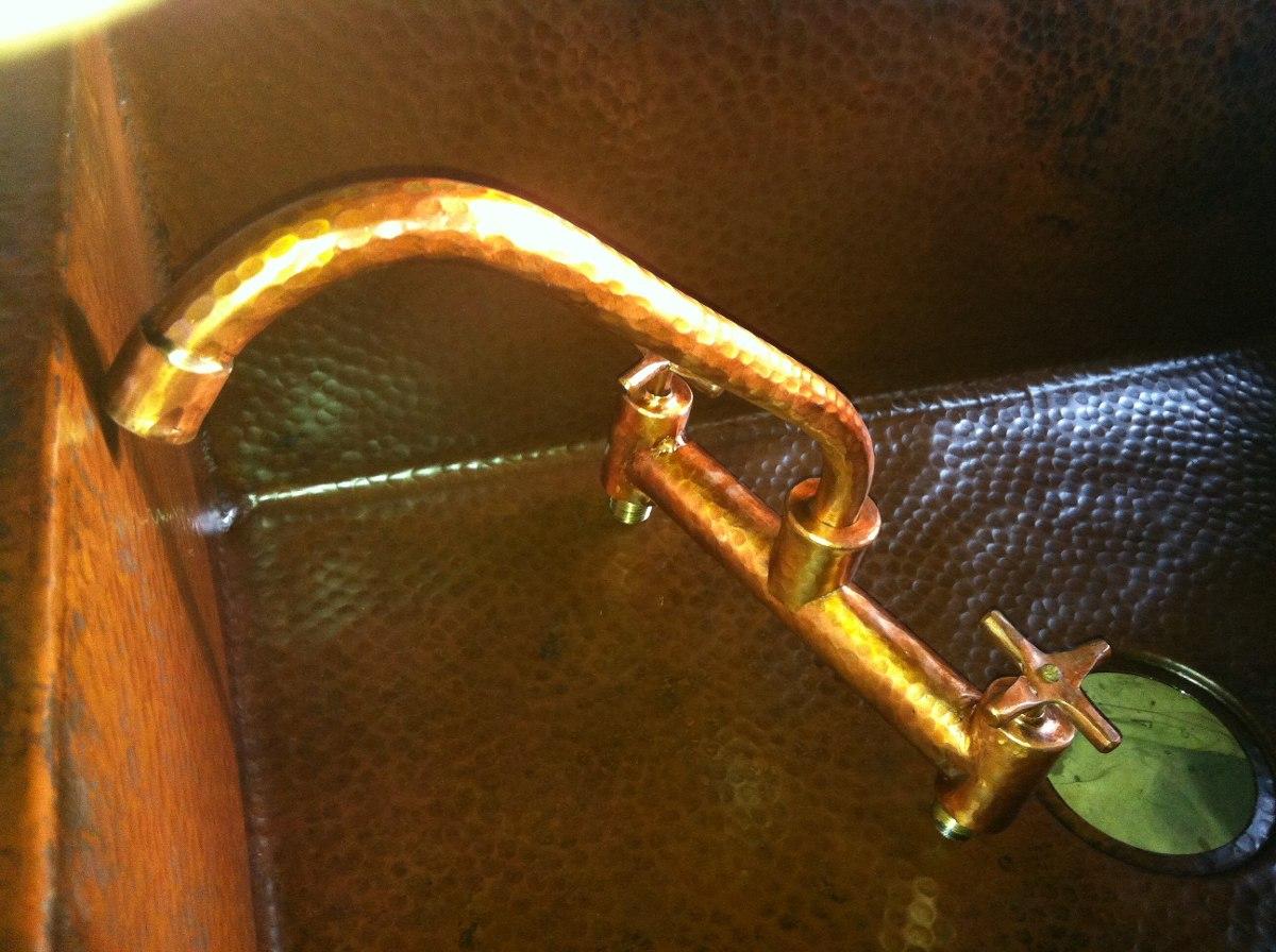 Grifo de cobre martillo 1 en mercado libre for Grifos de cobre
