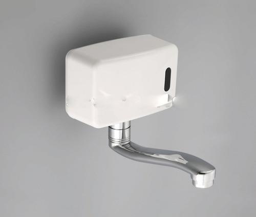 grifo griferia control pared  sensor en caja automatica
