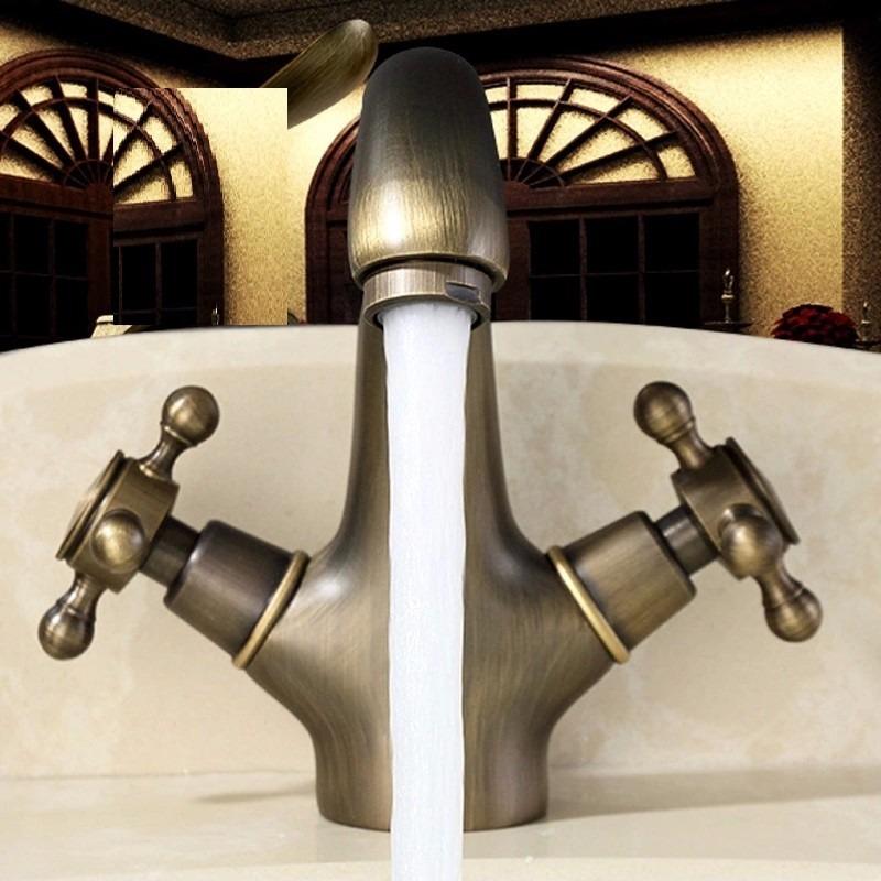 grifo llave lavabo ba o antiguo bronce entrega de 8a12dh