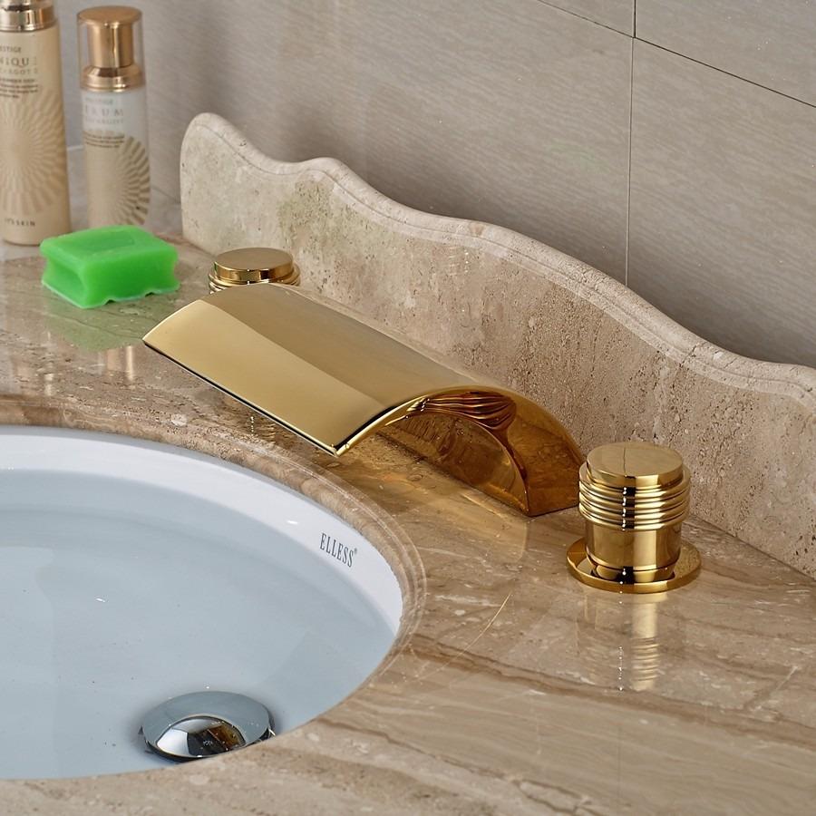 Grifo llave lavabo ba o oro entrega de 8a12dh 2 - Bano de oro ...