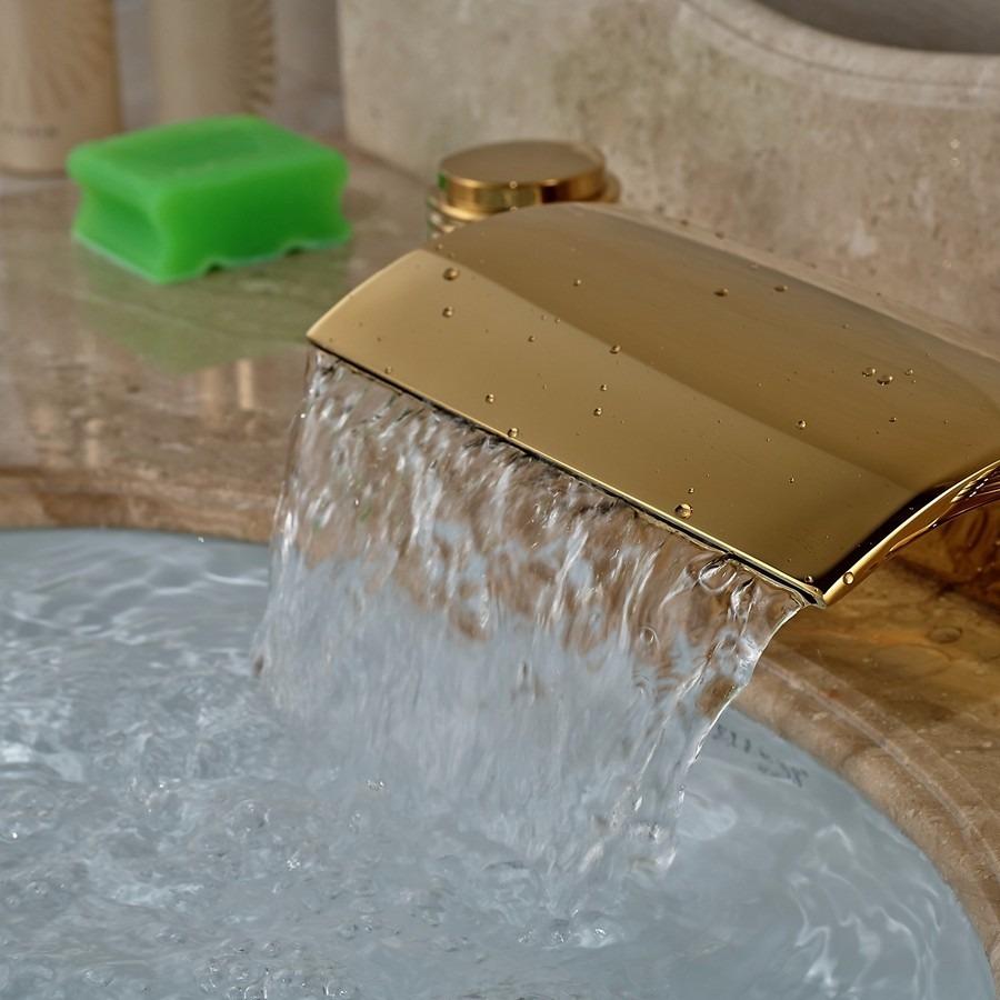 Grifo llave lavabo ba o oro entrega de 8a12dh 2 for Grifo lavabo vintage