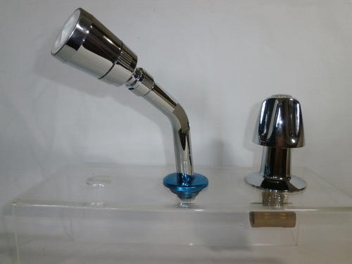 grifo para ducha individual cromado aqua nouva original