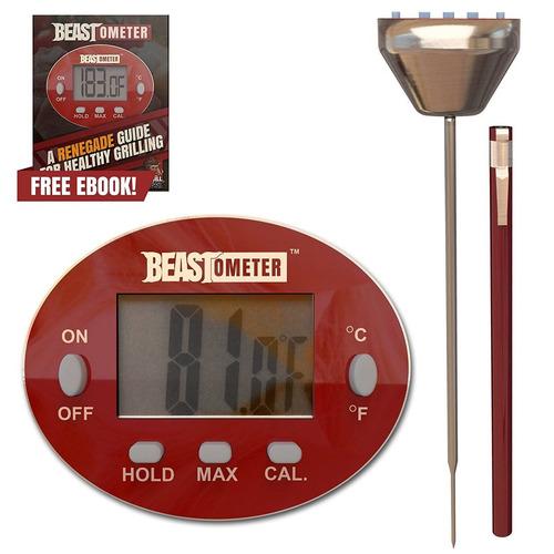 grill beast digital carne termómetro - barbac + envio gratis