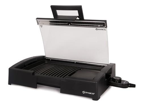 grill de mesa con tapa tipo plancha imaco ig1014