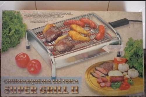 grill elétrico super grill churrasqueira  super potente