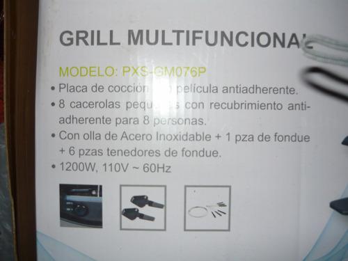 grill multifuncional