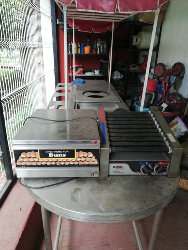 grill para hot dogs