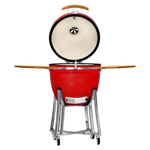 grillcorp - kamado grande - rojo