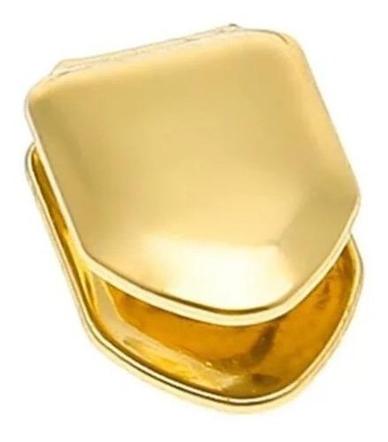 grillz único dente combo 2 silicone + cor prata ouro hip hop