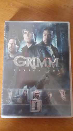 grimm serie dvd original coleccion 1era temporada