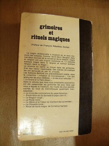 grimoires et rituels magiques initiation et connaissance