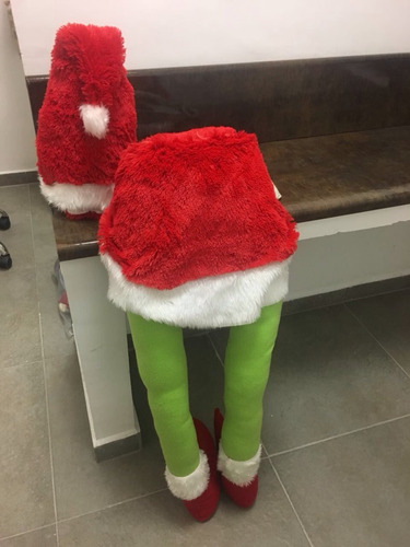 grinch decoracion arbol navideño $1600.00 unica pieza