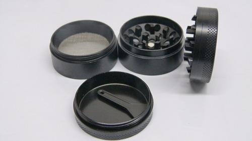 grinder cóncavo 4 piezas + accesorio weed