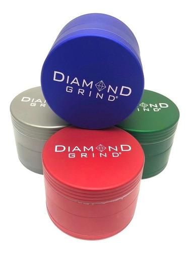 grinder diamond grind matte 2 pulgadas 4 piezas moledora