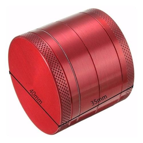 grinder molino polinizador hierba tabaco especias 4 capas