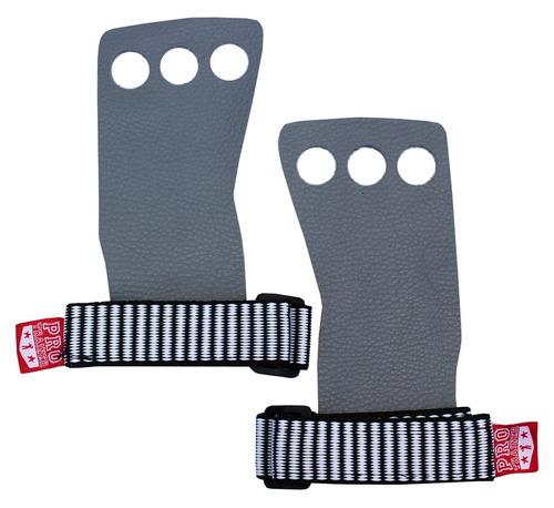 grip 3 furos crossfit luva dedos protetor cinza g