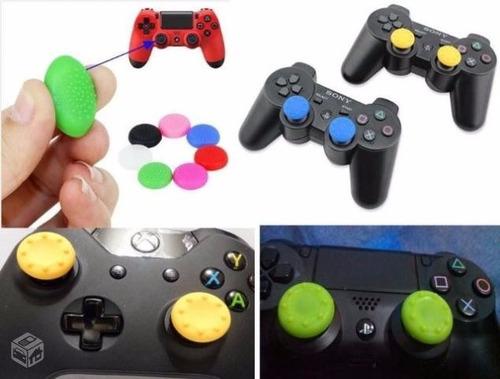 grip analógico playstation / xbox 10 pares (20 peças)
