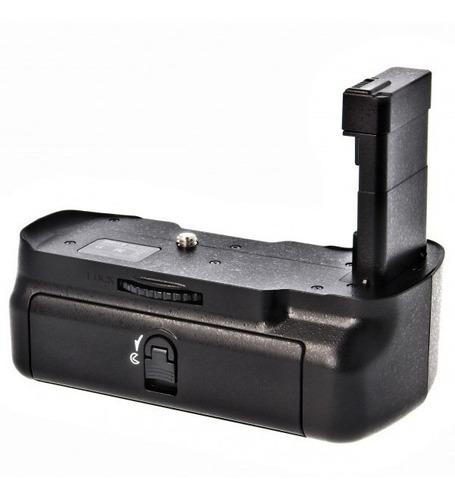 grip bateria meike p/ nikon d3300 battery punho dslr