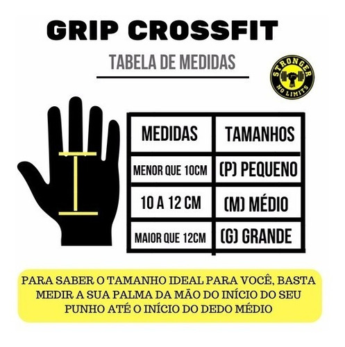 grip crossfit luva