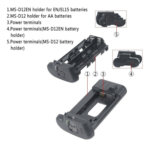 grip para battery