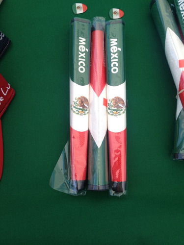 grip para putter de golf oversize con marca méxico.