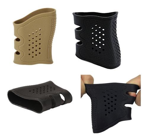 grip protector d caucho para empuñadura glock-cz-beretta etc