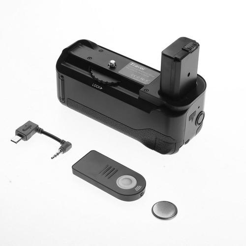 grip sony a6000 a6300 +control remoto+ batería +envío gratis