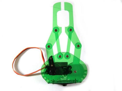 gripper garra robotica gde acrilico con servomotor mg995